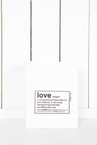Påse Love - liten