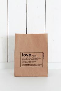 Påse Love - liten brun