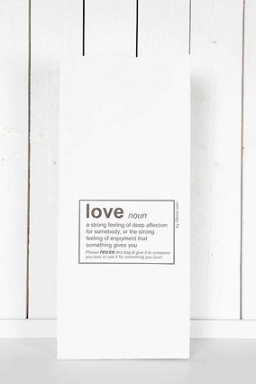 Påse Love - stor vit