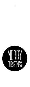 merry christmas - cirkel