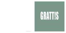 Grattis - grön