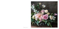 rosa blomsterbukett by Anna Gouteva