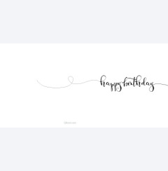 Happy birthday - swish