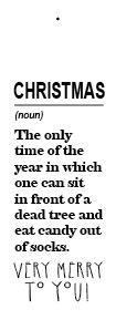 Christmas time - noun