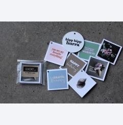 kvadratiska minikort