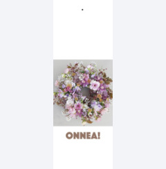 Onnea - with flowers