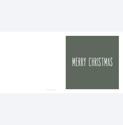 merry Christmas grön